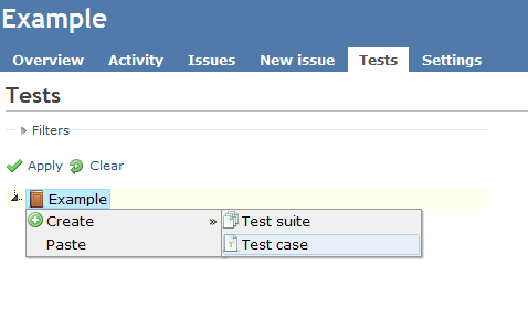 manual testing projects with test cases